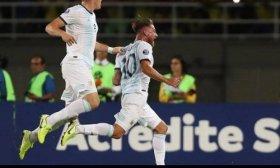La Selecci�n de Argentina sub 23 derrot� a Colombia