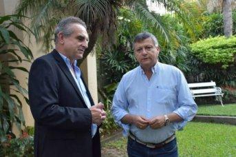 Peppo fue designado oficialmente embajador argentino en Paraguay