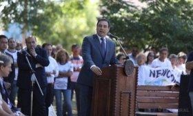 Vald�s, semana de gestiones por fondos a la espera de gobernadores radicales