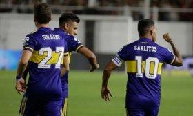 Boca gole� en Santiago del Estero y sigue en la lucha