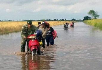 Emergencia hídrica: el Gobierno coordina trabajos y asistencia a las localidades afectadas