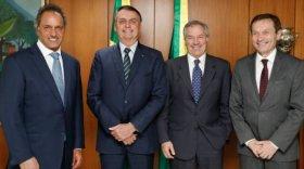 Jair Bolsonaro insiste a los cancilleres para que pongan fecha de reunión con Alberto Fernández
