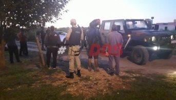 Secuestran droga en un auto tras persecución de Prefectura y Policía