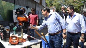 Lanzaron Potenciar, un concurso que entrega maquinarias y herramientas para montar un emprendimiento