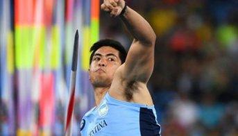 Murió en un accidente automovilístico el atleta olímpico argentino Braian Toledo