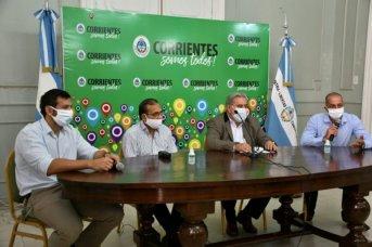 La Provincia presentó sistemas de desinfección creados por emprendedores correntinos