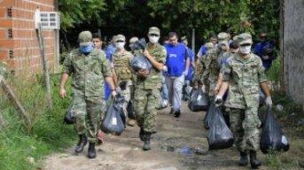 El Presidente saludó al Ejército Argentino y agradeció por el trabajo durante la pandemia