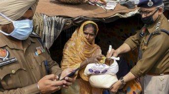 India registró un récord de contagios y superó los 180.000 casos