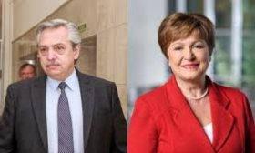 Fern�ndez y Georgieva analizaron la oferta a los bonistas y un posible Stand-By para la Argentina