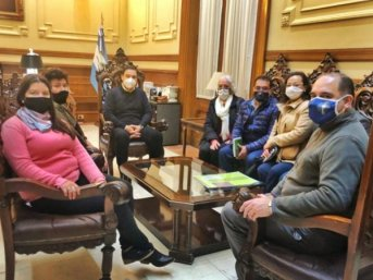 Valdés confirmó la restauración de la Casa Alegre de Itatí, donde funcionará un Centro Cultural