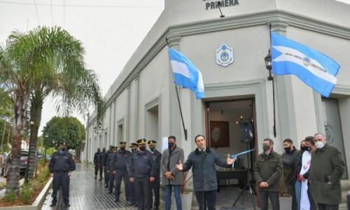 Ituzaingó recuperó el histórico edificio de la Comisaría 1ª