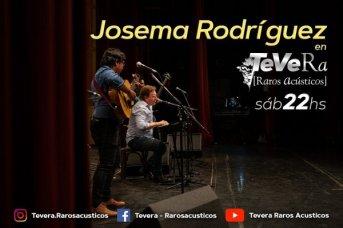 Josema Rodríguez estrena banda en Tevera, Raros Acústicos
