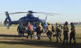 Son 90 mil las hect�reas afectadas por el fuego en islas del Paran�