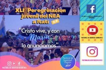 En formato virtual, se realizará la 41ª Peregrinación Juvenil del NEA a Itatí