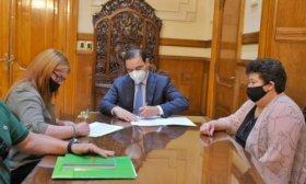 Vald�s firm� Convenio para la recuperaci�n y puesta en valor de la Casa de Fray Nepomuceno Alegre en Itat�