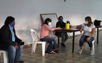 Salud coordinó protocolos por Covid-19 en localidades del interior