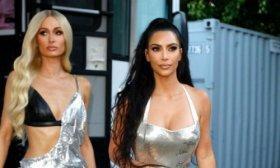 La ic�nica foto de Kim Kardashian paseando con Paris Hilton