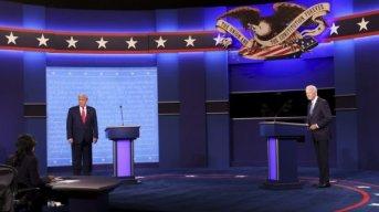 Trump y Biden desnudaron sus mayores diferencias: pandemia, economía e inmigración