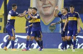 Boca confirmó su liderazgo con una goleada