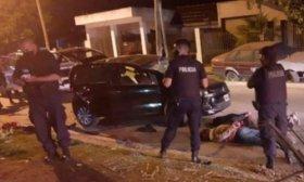 Una joven madre muri� atropellada por delincuentes que hu�an de la Polic�aen un auto robado