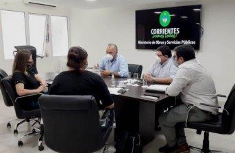 Junto a funcionarias nacionales, el ministro Polich analizó el proyecto urbano del barrio Dr. Montaña