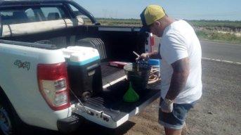 Se realizaron nueva toma de muestras de recursos hídricos
