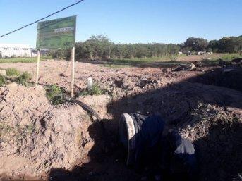 La obra del ducto Vilelas fue puesta a prueba exitosamente con las primeras lluvias
