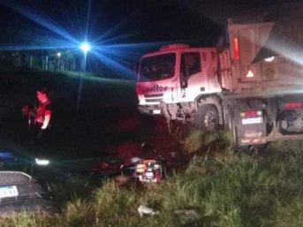 Ruta 12: accidente de tránsito fatal dejó un muerto y tres heridos