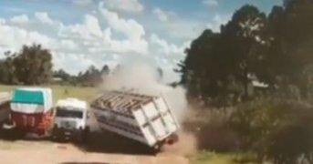 Explosión y muerte en un frigorífico de Curuzú Cuatiá