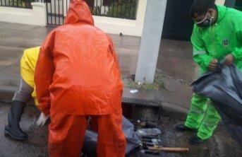 Rápido accionar del municipio en avenidas y distintos barrios luego de las intensas lluvias