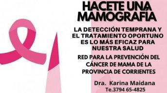 El ministerio de Salud Pública lleva adelante intensa Campaña contra el cáncer de mama