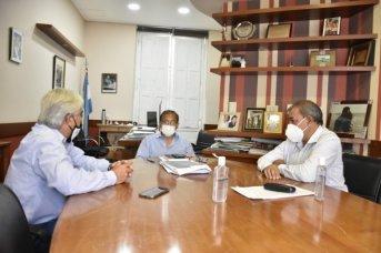 Cardozo se reunió con representantes de ATSA