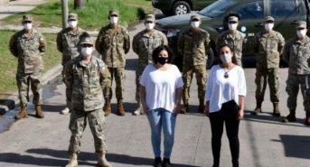 Cómo es el apoyo sanitario y logístico que realizan las Fuerzas Armadas