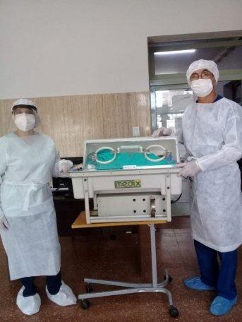 Nació el trigésimo sexto niño en el Hospital de Campaña de Corrientes