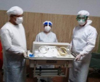 Se produjo el trigésimo séptimo nacimiento en el Hospital de Campaña
