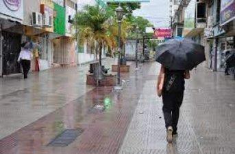 Pronóstico de precipitaciones del Servicio Meteorológico