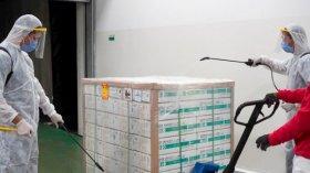 La próxima semana llegan al país un millón de vacunas Sinopharm