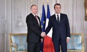 Macron urgi� a Putin a calmar las tensiones con Ucrania
