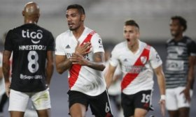 River logr� su primer triunfo en la Copa: super� a 2-1 a Junior