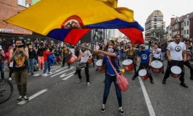 Colombia: s�ptimo d�a de marchas masivas contra el Gobierno