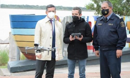 El Sistema Integral de Seguridad suma drones de última generación