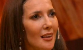 Cristina P�rez se quebr� al recordar a su abuela en PH