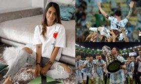 El conmovedor mensaje de Antonela Roccuzzo a Lionel Messi por consagrarse campe�n de la Copa Am�rica: �Por Dios, al fin se te dio!