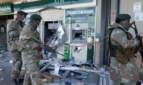 Sud�frica: Las protestas por el encarcelamiento de Zuma ya dejaron 337 muertos