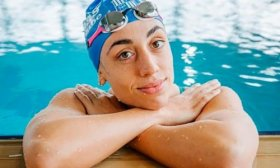 La argentina Sebasti�n no alcanza las semifinales en los 100m. pecho de nataci�n