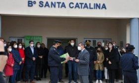 En Santa Catalina, Vald�s inaugur� Comisar�a y entreg� dos m�viles para la dependencia