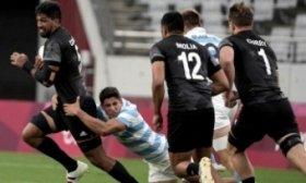 Los Pumas 7 no pudieron con la potencia de los hombres de Nueva Zelanda