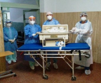 Se produjo un nuevo nacimiento en el Hospital de Campaña