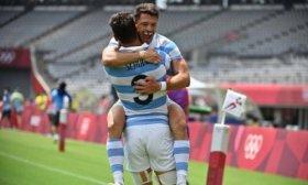 Tokio 2020: Los Pumas 7 vencieron a Sud�frica y est�n en semifinales