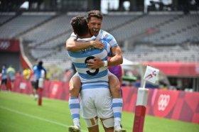 Tokio 2020: Los Pumas 7 vencieron a Sudáfrica y están en semifinales